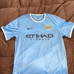 Nike Manchester City 2014 Home Jersey - Large